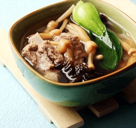 家常煲汤日记:西施排骨汤