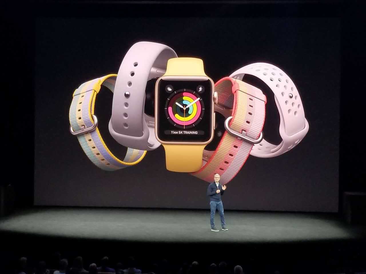 库克:Apple Watch出货量全球排名第一