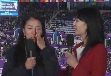 杨扬泪崩:没看到韩国选手完成交接 要干净的比赛