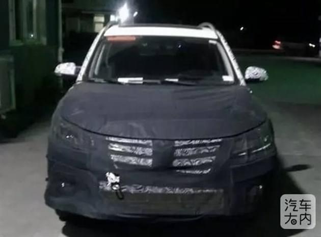 ZS的兄弟车型 荣威全新SUV路试谍照曝光