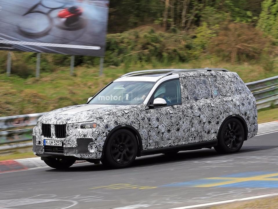 量产车明年发布 宝马9月先期发布X7概念车