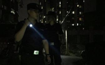 孩子夜晚走失 60多警力紧急寻找