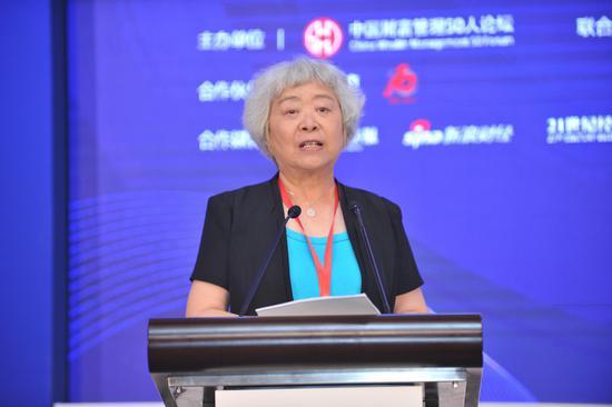 吴晓灵:银行理财产品不保本但保收益扭曲市场纪律