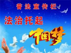 灵宝市城关司法所:普法宣传 形式新颖