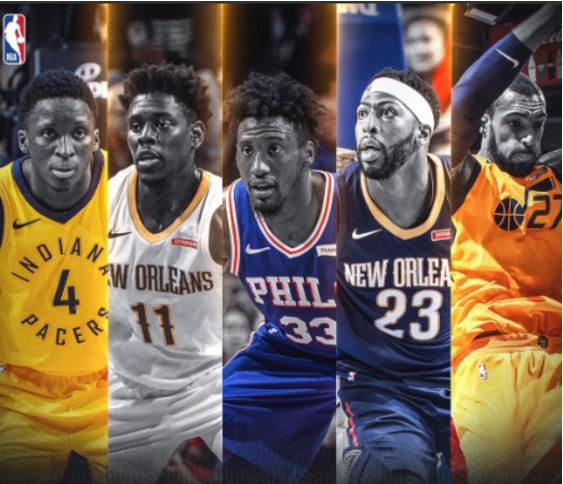 NBA官方公布最佳防守阵容:浓眉进一阵 追梦二阵