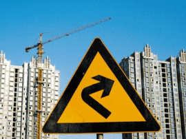 信贷大幅紧缩 楼市降温 房企正处降杠杆十字路口