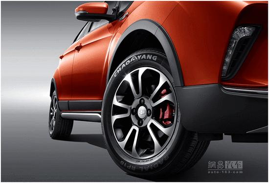 小型SUV/年内上市 吉利远景X3官图发布