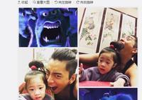 王大陆又开始吃孩子了!看来王俊凯送他的娃吃完了