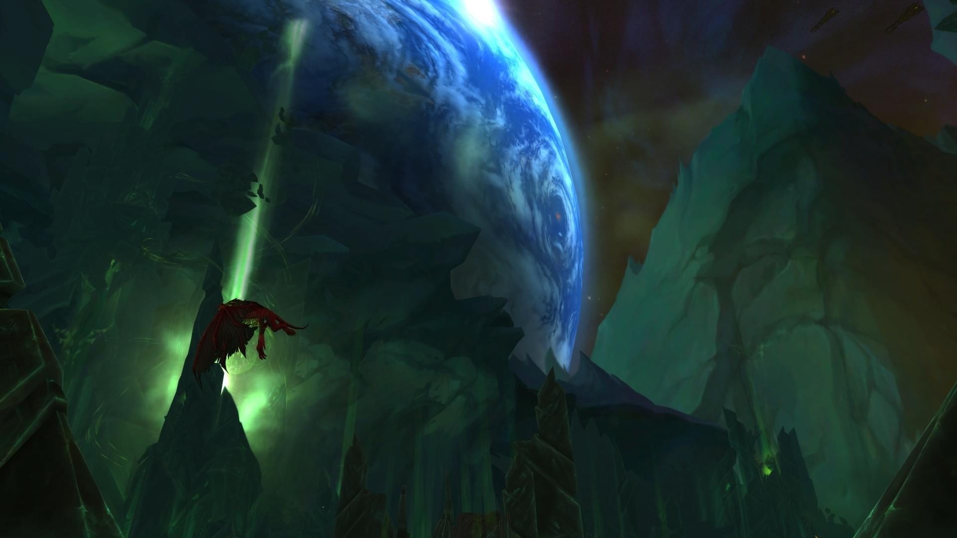 魔兽世界7.3安托鲁斯燃烧的王座区域预览