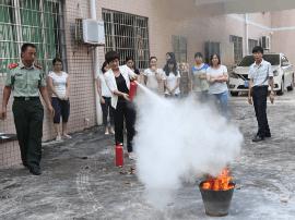 阳东区档案局开展消防安全知识培训和应急演练