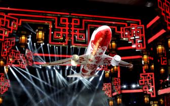 世界纪录级别飞行器加盟辽视春晚 欲破吉尼斯纪