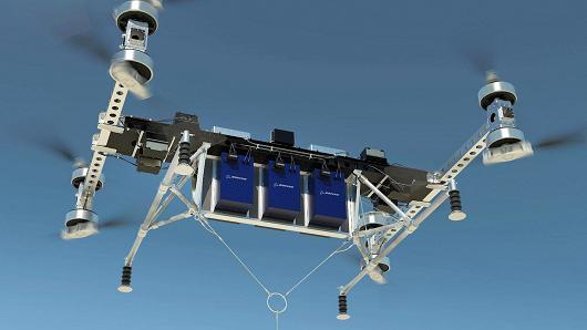 波音公司推出无人驾驶纯电动货运飞机原型机