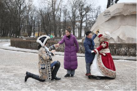 《一路书香》远赴俄罗斯 韩庚许子东路透照曝光