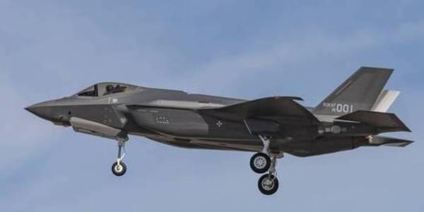 韩国首架F-35A战斗机飞行状态首次曝光