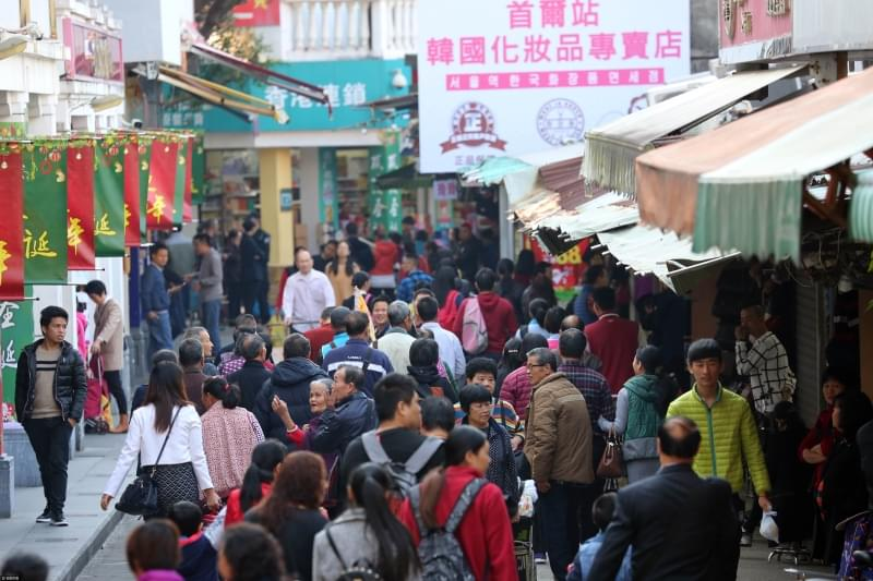 广东深圳的中英街