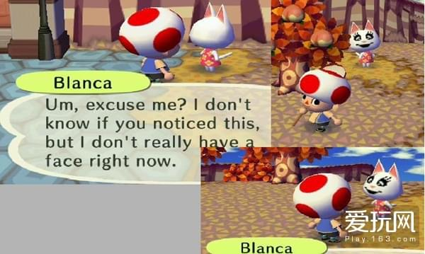 20blanca的脸总被涂的奇奇怪怪的