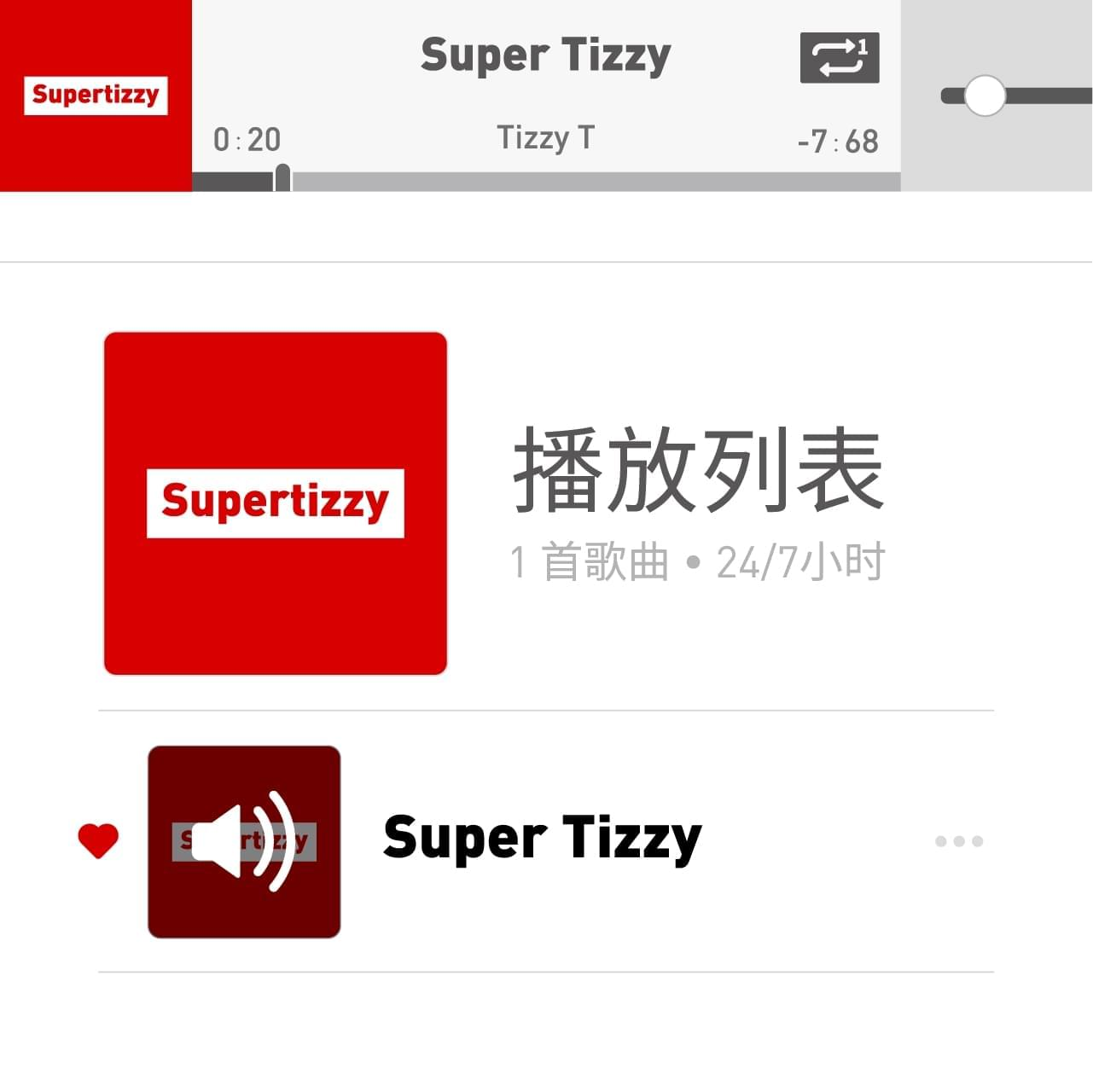 Tizzy T新歌《Super Tizzy》发布 借机表白歌迷