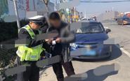 交警查获一逾期未检验车辆 已扣511分
