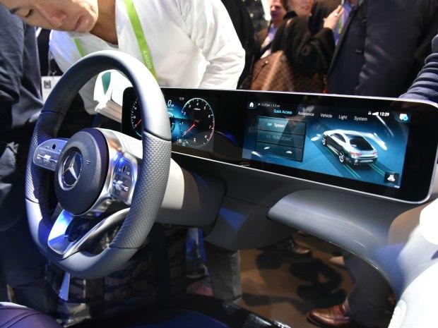 新A级率先搭载 奔驰推出全新多媒体系统