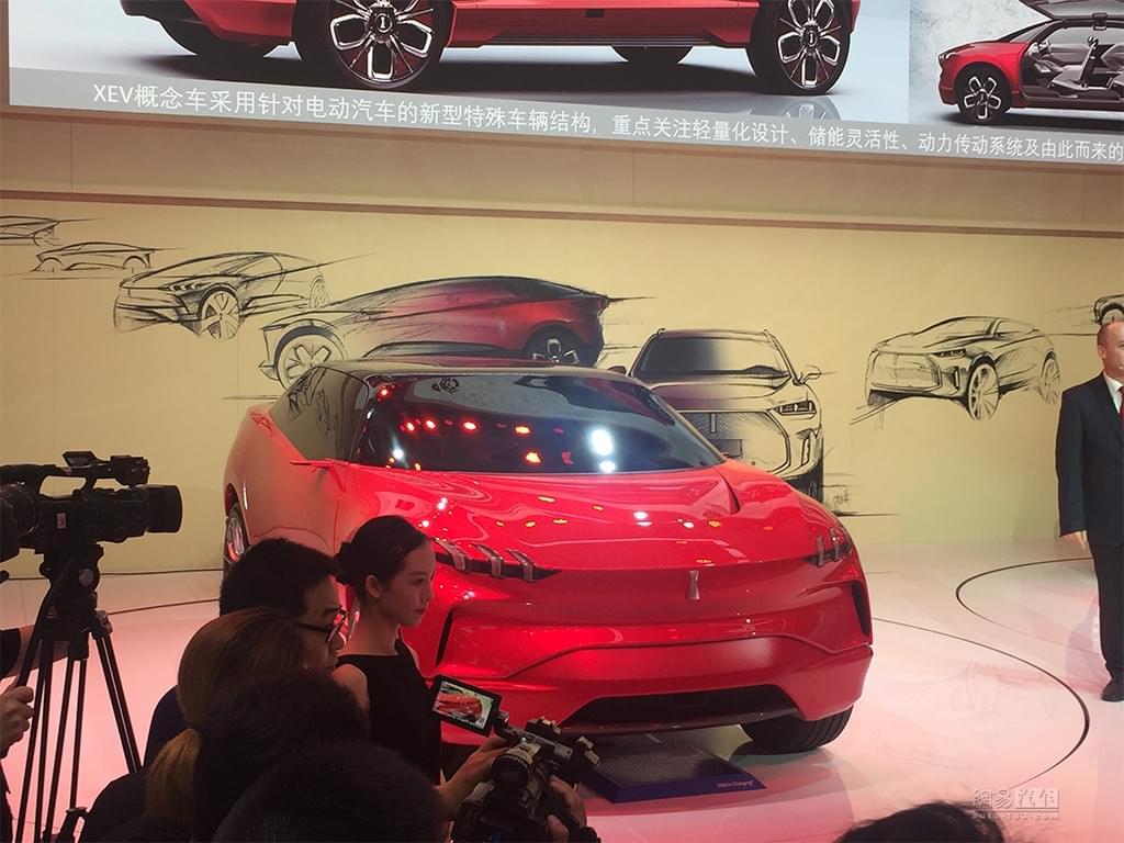 造型夸张/纯电动 WEY XEV概念车车展发布