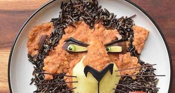澳大利亚巧手母亲制作卡通食物