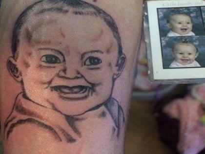 这些也许是史上最丑的纹身没有之一