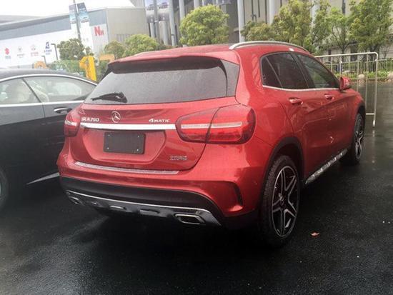 2017上海车展探馆:北京奔驰新款GLA实车