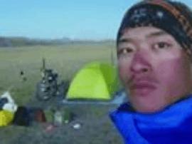 25岁鞍山小伙骑行西藏收获爱情