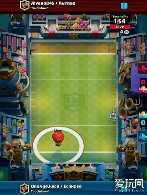 《皇室战争》新模式正式公布:美式足球达阵模式