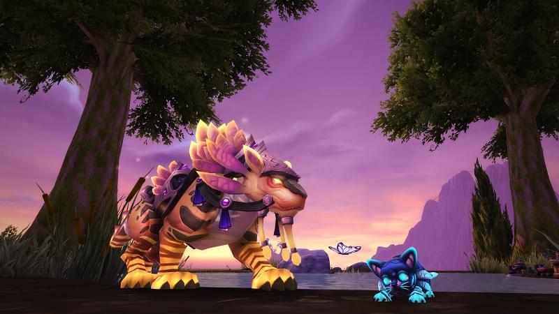 魔兽世界新坐骑与宠物上架 暮光与微光逐星者