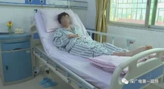 深圳打工女孩被前男友泼汽油 称对前男友没有恨