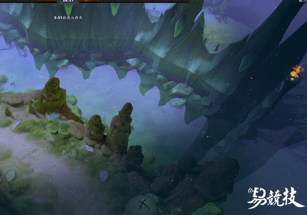 神奇的地底世界!DOTA2 TI8主题地图玉海之渊考据