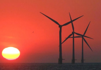 欧洲各国爱上风力发电,在海上建超大型风力发电