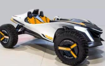 现代沙滩概念车也可以变成水上摩托艇