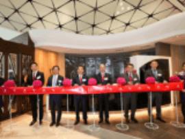 香港航空庆祝首架A350 客机抵港 全新机场贵宾室「遨堂