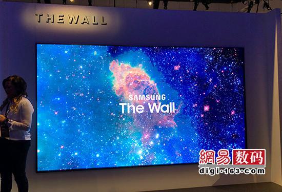 三星146英寸模块化电视初体验:大屏更出彩