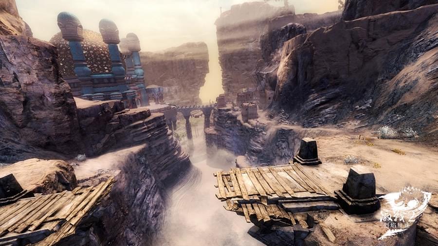 打开新世界的大门 激战2新版本地图大揭秘