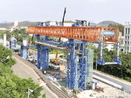 增城加速发展交通 地铁13号线完成土建施工82%