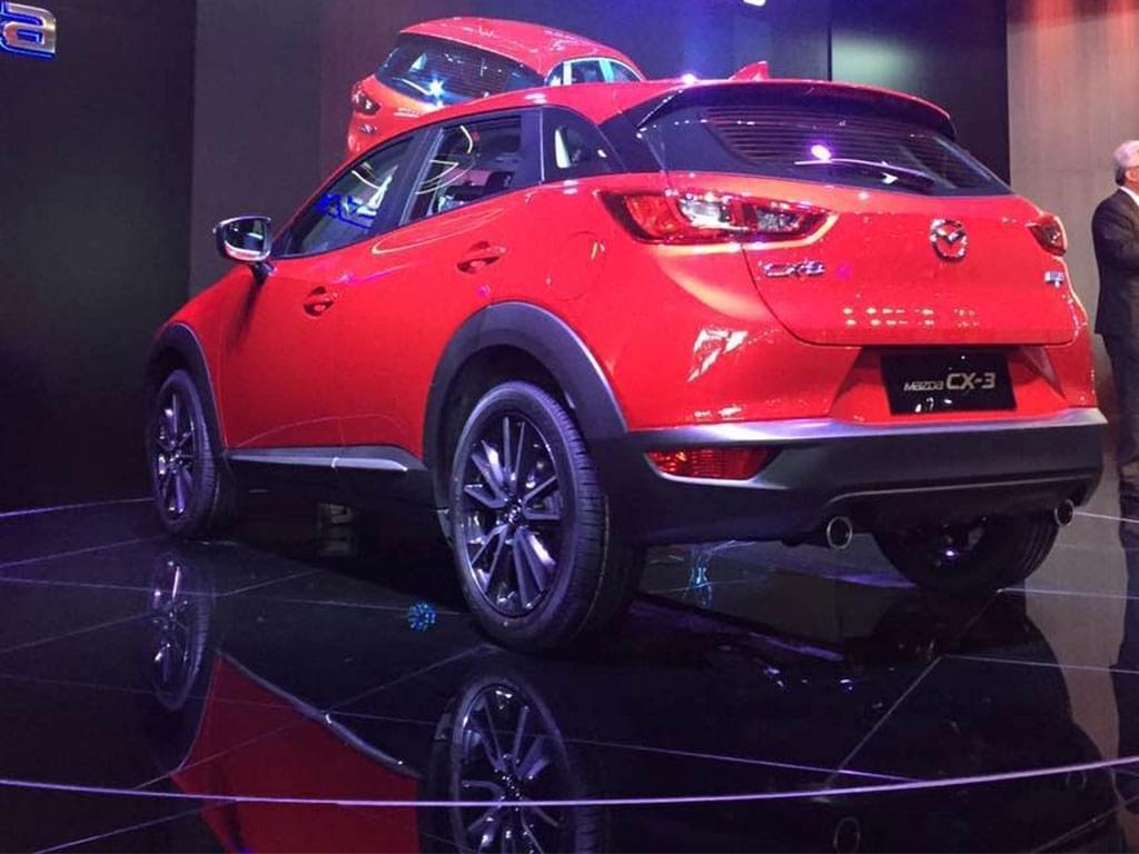 2017上海车展:马自达CX-3国内正式首发