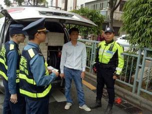 深圳司机违载300升柴油 无证驾驶还抽烟