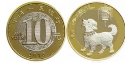 狗年贺岁纪念币开始预约 山西发行600万枚