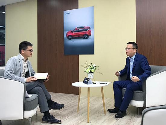王俊:全新品牌欧尚汽车 为重塑消费者用车体验而生