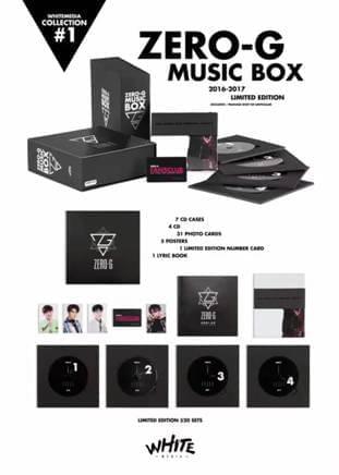 ZERO-G MUSIC BOX限量发售 收录2年音乐作品