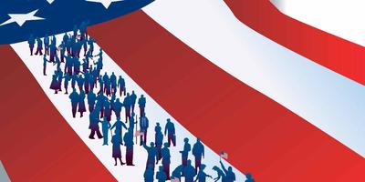 """""""美国优先""""移民靠边 美国不再是移民天堂"""