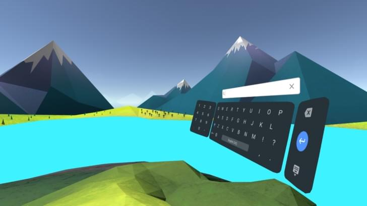 谷歌推出VR系统Daydream虚拟键盘应用的照片 - 1