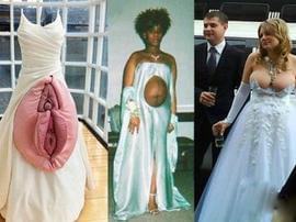 奇葩婚纱大盘点!你敢穿么?