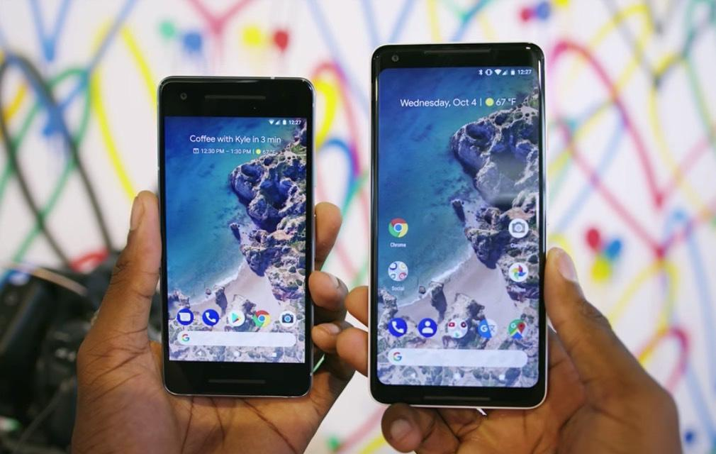 传谷歌打算升级Pixel手机 欲加刘海挑战iPhoneX