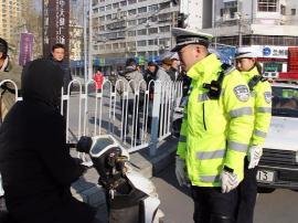 七里河大队开展整治非机动车专项