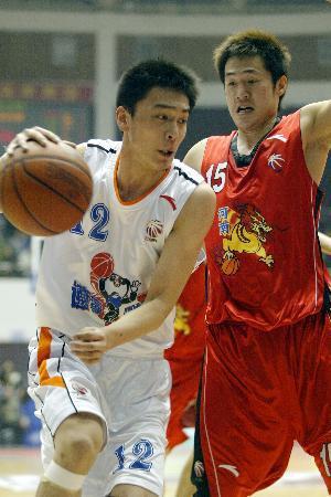 2005-2006赛季,青涩的杨鸣