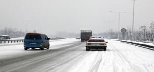 快讯:洛栾高速因路面结冰全线封闭